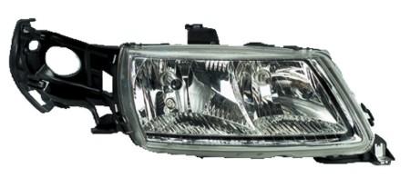 New OEM Valeo Left Headlamp Assembly for Saab 044726, 5337936