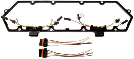 Diesel Valve Cover Gasket Kit (Dorman 615-202) w/ 2 Fuel Injector Harnesses
