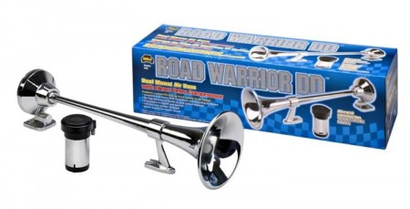 Road Warrior DD Roof Mount Truck Air Horn - Wolo Model# 845