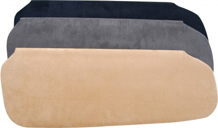 Heads UP Dark Grey Suede OptionZ (TM) Sun Visor Re-cover Kit HU-565