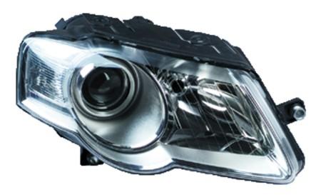 OEM Valeo Left Headlight Assembly 09-10 Volkswagen Passat CC 044714 3C0941005AE