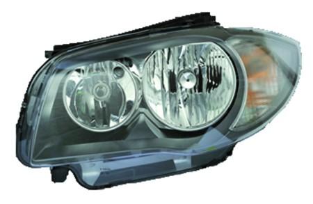 New Valeo Left Head Light Assm Halogen H7+ H7 for BMW 1-Series (E82/E88) 044793