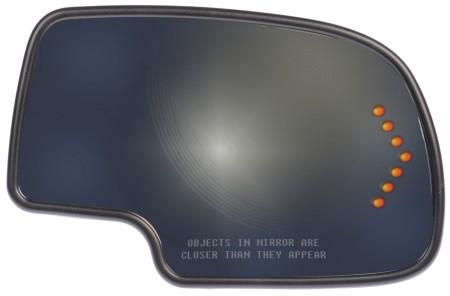 Passenger Side Mirror Glass Assembly (Dorman 56319) Power Heated