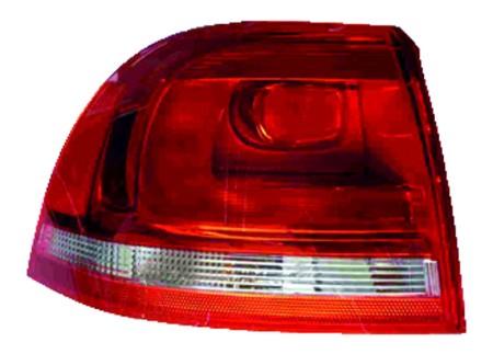 New OEM Valeo Left Tail Light Assembly 2011 Volkswagen Touareg 44722 7P6945095F