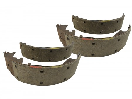 Rear Brake Shoes with Bendix Lining Absco RR482 RR-482