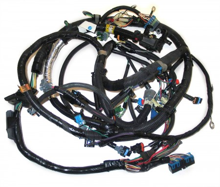12167747 oem tbi engine wire harness for 5 0l 305 \u0026 5 7l 350 gm engines Aftermarket Engine Wiring Harness