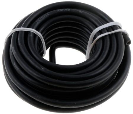 12 Gauge Black Primary Wire- Card - Dorman# 85710