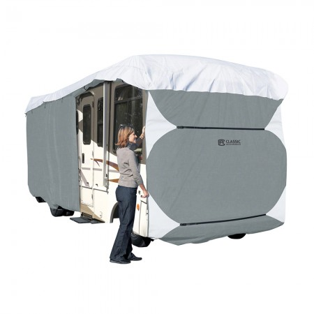 Classic Accessories 70363 Overdrive PolyPro 3 Deluxe Class A RV Cover, Grey