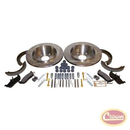 Disc Brake Service Kit (Rear) - Crown# 52089275K