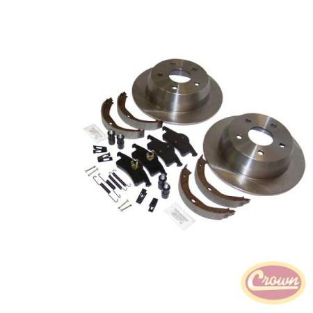 Disc Brake Service Kit (Rear) - Crown# 52098666K