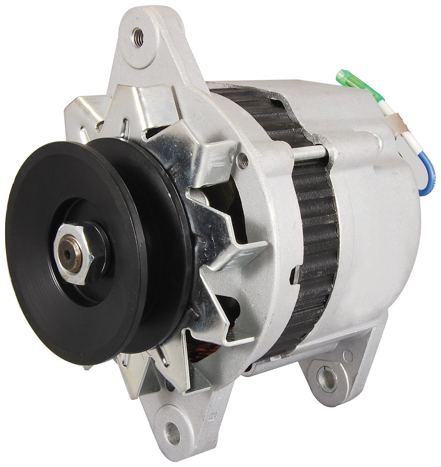 Forklift Hi-Lo Alternator- HI IR/EF12288N Fits Mustang Skid Steer Loader