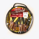 Deka Booster Cable 8 gauge 12 ft 100% Copper Tangle Free, 00168