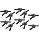 (10) Ten OEM Vacuum Hose Connectors (3/16X3/16X3/16) NYLON, GM 1987 - 2007