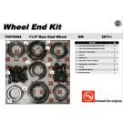 OEM Wheel End Kit 74070004 Complete Dual Rear Hub Master Bearing Kit 11-15 GMC