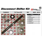 """OEM Disconnect Shifter Kit - 74080005 Front 7.6"""" IFS Axle 06-10 H3 H3T Hummer"""