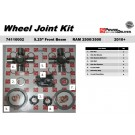 One New 2-Piece USA Made OEM U-Joint kit - 74110002