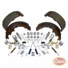Brake Shoe Set Master Kit - Crown# 4723367MK