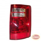 Tail Lamp (Caravan - Right) - Crown# 5113204AB