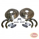 Disc Brake Service Kit (Rear) - Crown# 52060147K