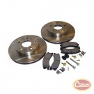 Disc Brake Service Kit (Front) - Crown# 52098672KL