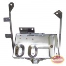 Battery Tray Kit (Stainless) - Crown# RT34020