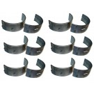Set of Six Crankshaft Main Bearings (.002) - Crown J8133682 Fits CJ 2.5 3.8 4.2