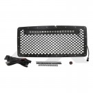 "Stainless Grille w/ 20"" LED Light Bar - Crown# RT28041"