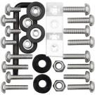"""Ultimate Kit"" Locking Hardware Asrt for License Plate Mounting - Cruiser# 81500"