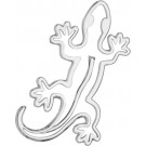 "One ""3D-Cals"" Chrome 'Gecko' Decal - Cruiser# 83053"