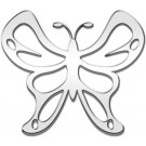 "One ""3D-Cals"" Chrome 'Butterfly' Decal - Cruiser# 83303"