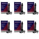 6 New OEM AC Delco Ignition Coils D515C 19279914 UF569 Fits Equinox Impala