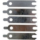 Starter Alignment Shim, (1) 1/64, (2) 1/32 and (2) 1/16 In. - Dorman# 02336