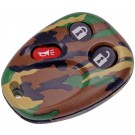 New Keyless Remote Case Replacement Green Camoflage - Dorman 13618GNC