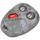 New Keyless Remote Case Replacement Gray Digital Camoflage - Dorman 13618GYC