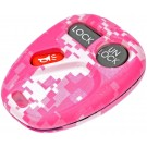 New Keyless Remote Case Replacement Pink Digital Camoflage - Dorman 13622PKC