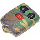 New Keyless Remote Case Replacement Green Camoflage - Dorman 13625GNC
