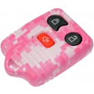 New Keyless Remote Case Replacement Pink Digital Camoflage - Dorman 13625PKC