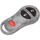 New Keyless Remote Case Replacement Gray Digital Camoflage - Dorman 13628GYC