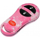 New Keyless Remote Case Replacement Pink Digital Camoflage - Dorman 13628PKC