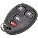New Keyless Entry Remote 4 Button - Dorman 13735
