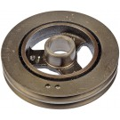 Engine Harmonic Balancer (Dorman 594-014) Hollow Back, Double Groove
