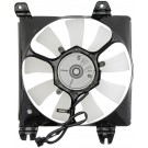 A/C Condenser Radiator Fan Assembly (Dorman 620-012) w/ Shroud, Motor & Blade