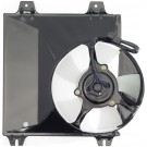 A/C Condenser Radiator Fan Assembly (Dorman 620-028) w/ Shroud, Motor & Blade