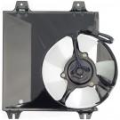 A/C Condenser Radiator Fan Assembly (Dorman 620-028) w/ Shroud, Motor & Blade