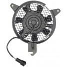 A/C Condenser Radiator Fan Assembly (Dorman 620-123) w/ Shroud, Motor & Blade
