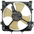 A/C Condenser Radiator Fan Assembly (Dorman 620-202) w/ Shroud, Motor & Blade