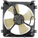 A/C Condenser Radiator Fan Assembly (Dorman 620-203) w/ Shroud, Motor & Blade