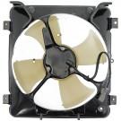 A/C Condenser Radiator Fan Assembly (Dorman 620-203) w/ Shroud, Motor & Blade