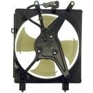 A/C Condenser Radiator Fan Assembly (Dorman 620-220) w/ Shroud, Motor & Blade