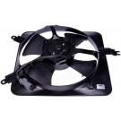 A/C Condenser Radiator Fan Assembly (Dorman 620-224) w/ Shroud, Motor & Blade